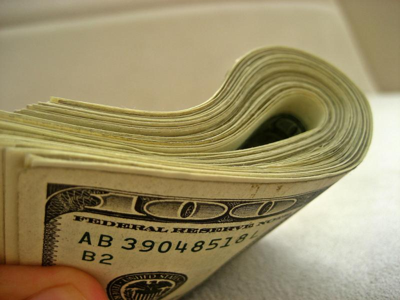 Money has played a significant role in this year's presidential election. (401(K) 2012, Creative Commons)