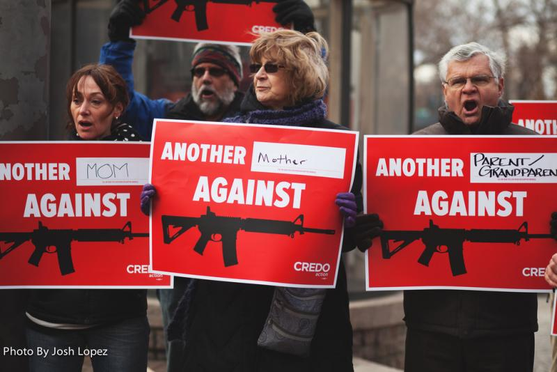 An assault weapons ban is a reasonable solution to the problem of gun violence, one that has a lot of support. (joshlopezphoto, Creative Commons)