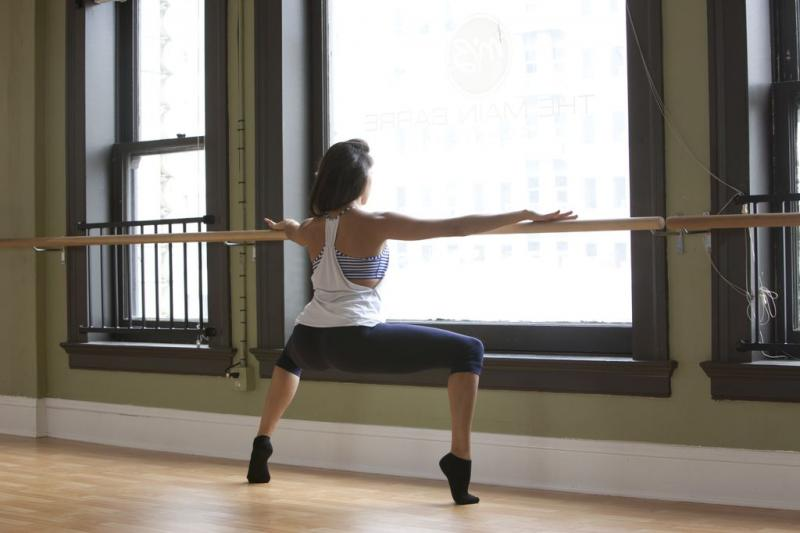Audra Skaates is the owner of The Main Barre. (The Main Barre)