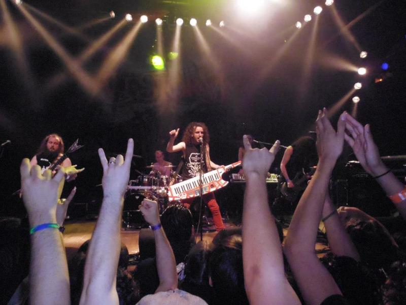Alestorm performs in 2012 at the soon-to-be-extinct House Of Blues Sunset (Jeremy Fuster)