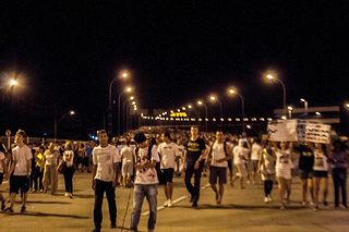 Thousands of Brazilians march in one of over 100 protests across the nation. (Luiza Bissolli/Creative Commons)