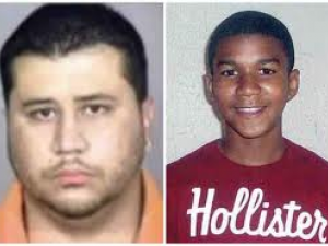 George Zimmerman (left), Trayvon Martin (right). (Photo courtesy of Creative Commons).