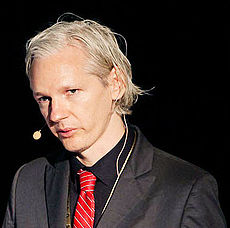 Following an arrest warrant in relation to allegations in Sweden of rape and assault, Assange requested political asylum from the Ecuadorian embassy in London on the grounds he was being persecuted in June. (Creative Commons/Wikipedia)
