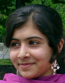 Yousafza's earned Pakistan's first National Youth Peace Prize through her writings. (Creative Commons/Wikipedia)