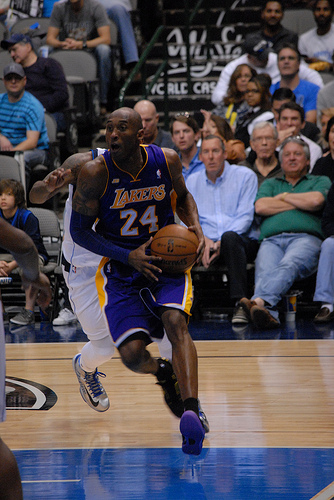 Kobe Bryant 1, Mark Cuban 0 (Keith Allison/Creative Commons)