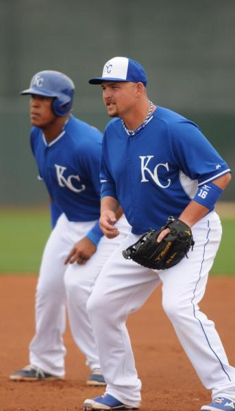 Salvy Perez (left) and Billy Butler are two of the Royals' homegrown success stories. (Twitter/@Royals)