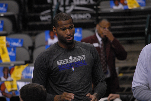 DeMarcus Cousins got paid this offseason, but the Kings will still struggle for wins. (Scott Mecum/Flickr)