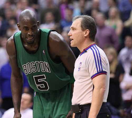 Kevin Garnett and the Celtics are back for another year (Keith Allison/Creative Commons).