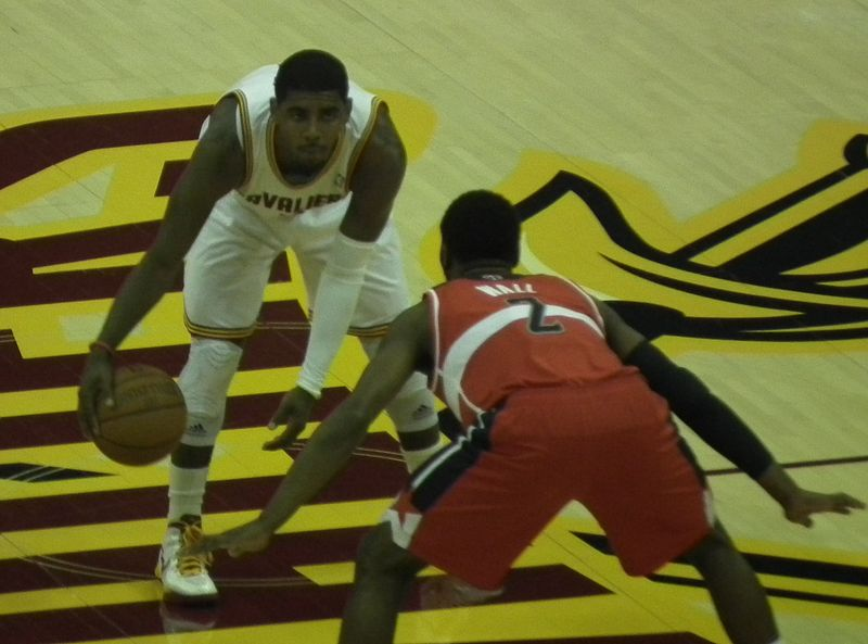 Kyrie Irving has fans in Cleveland excited again (Erik Drost/Creative Commons).