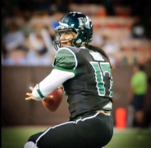 Hawaii will miss graduated quarterback Bryant Moniz sorely (Kyle Nishioka/Creative Commons)
