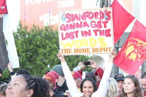 USC will seek revenge after their 56-48 defeat last season (Sara Ramsey/NT)