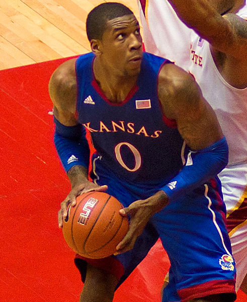 It's been all downhill for Thomas Robinson since his time as a Jayhawk (SD Dirk/Wikimedia Commons).