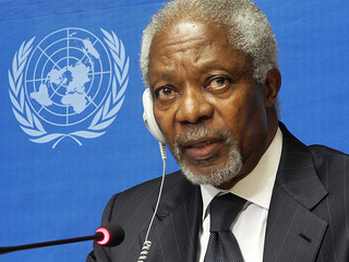 Annan's departure is seen as a blow to the international diplomatic community. (Courtesy Creative Commons/ United Nations- Geneva)