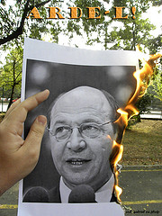 Opposition to Basescu strengthened as anti-austerity sentiment grew. (Courtesy Creative Commons/ Cod_Gabriel)