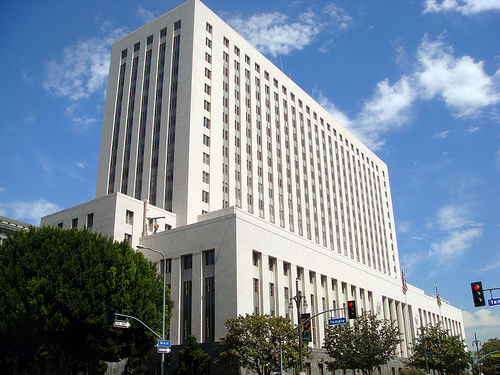 Los Angeles federal courthouse (photo courtesy of Creative Commons).