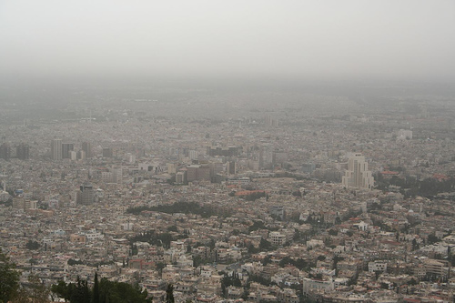 Damascus, Syria (photo courtesy of Creative Commons).