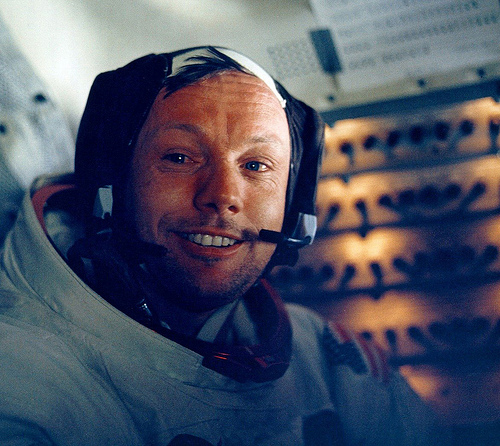 Neil Armstrong (Creative Commons).