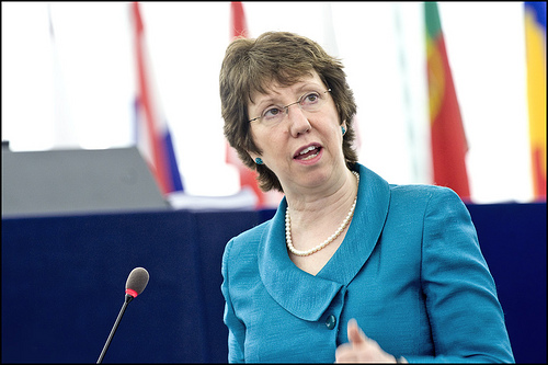 EU foreign policy chief Catherine Ashton (photo courtesy of Creative Commons).