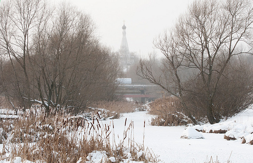 Yauza River, Moscow, Feb. 1, 2012 (photo courtesy of Creative Commons).
