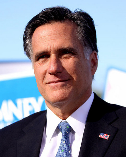 Mitt Romney (photo courtesy of Creative Commons).