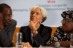 Christine Lagarde of the IMF (Creative Commons)