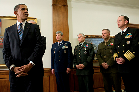 President Obama at The Pentagon (Creative Commons)