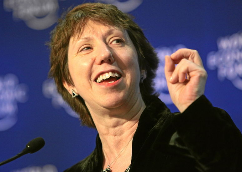 EU foreign policy chief Catherine Ashton (Courtesy of Wikimedia Commons)