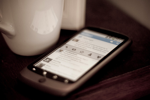 Twitter for Android (Johan Larsson/Creative Commons)