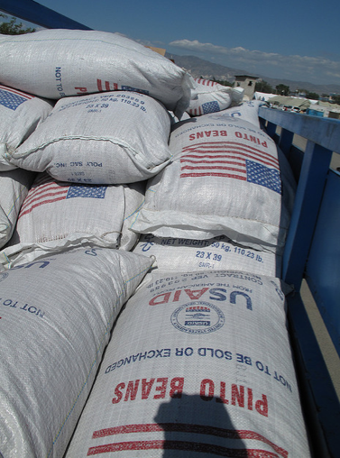 U.S. Food Aid (Creative Commons). The U.S. backed out of sending North Korea food in April.