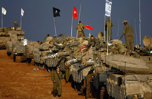 The violence wages on as leaders scramble for a truce and Israel assembles troops (Creative Commons/Amir Farshad Ebrahimi)