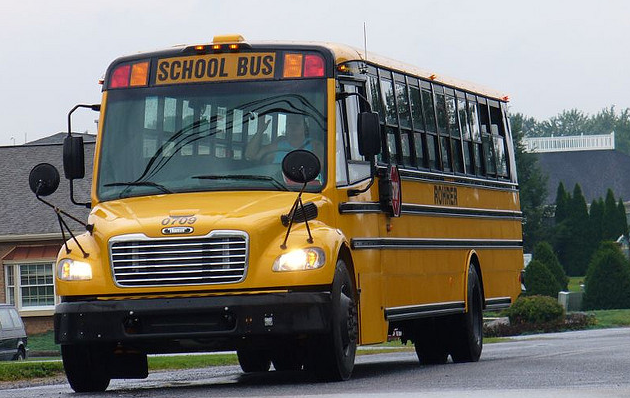 The boy was abducted from his school bus (Creative Commons)