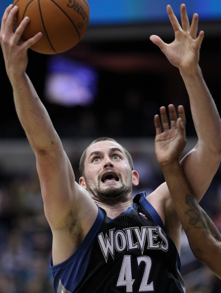 Kevin Love shed some pounds, but has increased his offensive production this season. (Keith Aliison/Creative Commons).