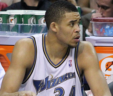 Nuggets late-season acquisition JaVale McGee has struggled this series. (Keith Allison/Creative Commons)