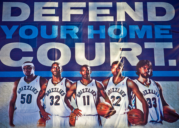 The Grizzlies couldn't defend their home court. Can the Clippers? (Sean Davis/Creative Commons)