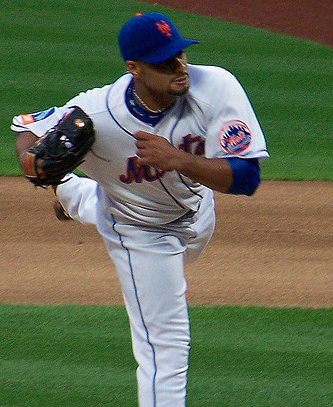 Santana became the first pitcher to no-hit the reigning champions since Nolan Ryan in 1990. (Paul.Hadsall/Creative Commons)
