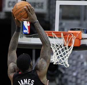 LeBron James was a triple-double machine this postseason. (Keith Allison/Creative Commons)