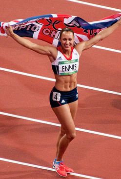 Jessica Ennis served as Team GB's poster girl at these Olympics. (LondonAnnie/Creative Commons)