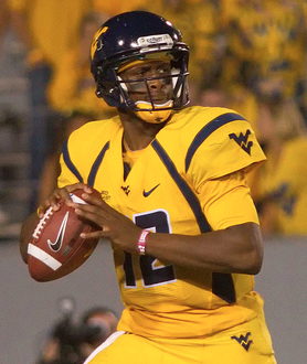 Geno Smith and the Mountaineers will fall to the Longhorns this weekend. (Pulper/Creative Commons)
