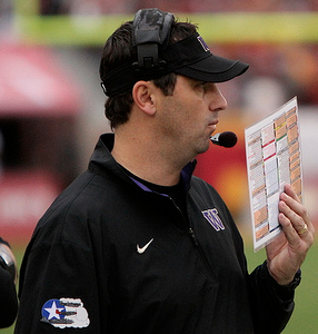 It's settled. Steve Sarkisian's Huskies will score 21 points in a losing effort. (James Santelli/Neon Tommy)