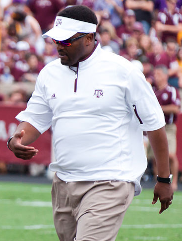 In his first year at A&M, Sumlin is already doing big things. (Shutterbug459/Wikimedia Commons)