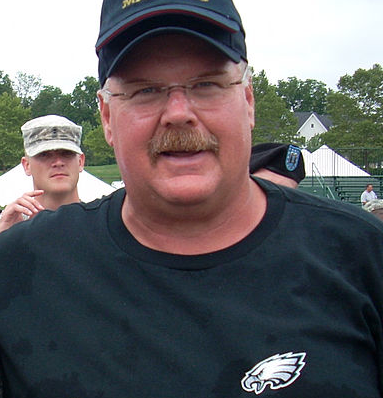 After 14 years with the Eagles, Andy Reid has moved on to the Chiefs. (Moses Ross/Wikimedia Commons)