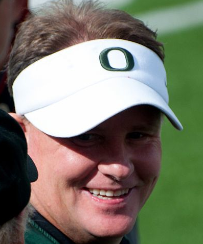 Chip Kelly will finally bring his up-tempo offense to the biggest stage. (Abdoozy/Wikimedia Commons)