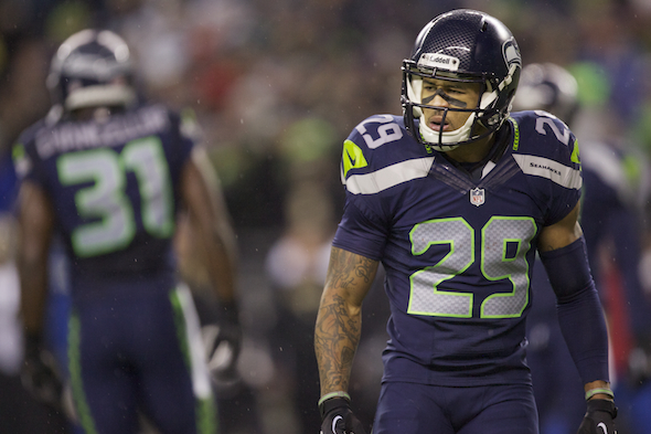 Earl Thomas leads the Legion of Boom down to the Bay. (Drew Sellers/Creative Commons)