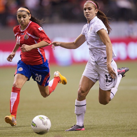 Alex Morgan was dynamite all day - and she showed it when it counted. (US Mission Canada/Creative Commons)