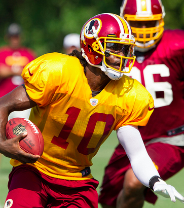 Can RGIII recapture his freshman fire? (Keith Allison/Creative Commons)