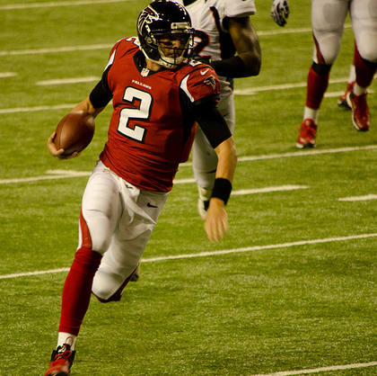 Matt Ryan and the Falcons will need to make another long run this year. (Football Schedule/Creative Commons)