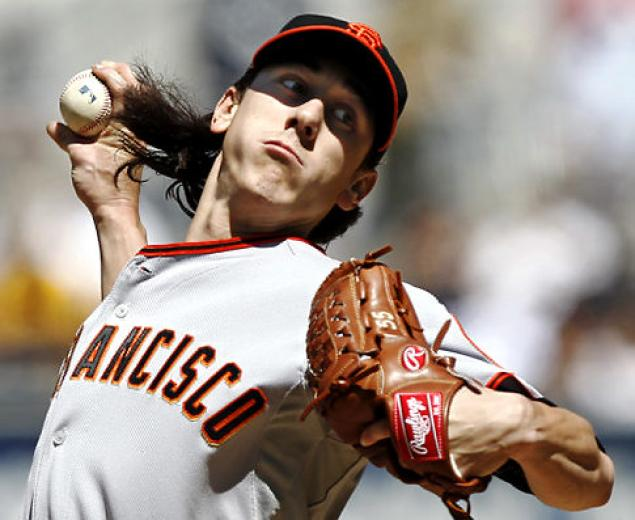 Lincecum has improved upon last year's poor performance, but is still getting off to bad starts. (Wyatt Smith/Creative Commons)
