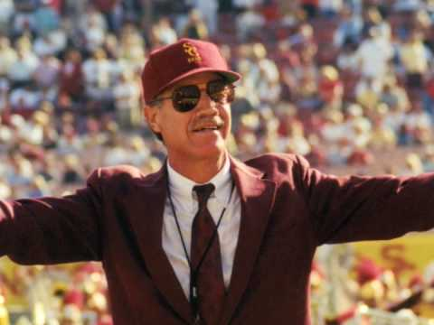 Dr. Bartner is a fixture and a legendary presence at USC home games. (Wikimedia Commons)