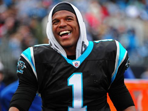Cam and the Panthers are all smiles. (FFCounselor/Creative Commons)