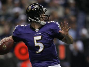 Our experts agree that the winning QB will be Super Bowl MVP. Will that QB be Joe Flacco? (Creative Commons)